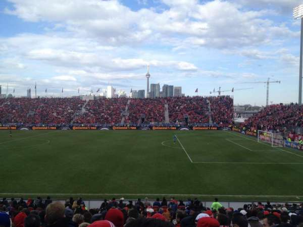 BMO Field, section: 121