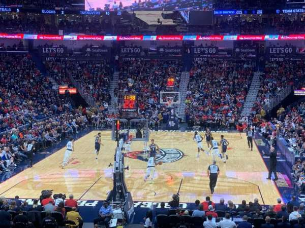 Smoothie King Center, section: 118, rangée: 23, siège: 20
