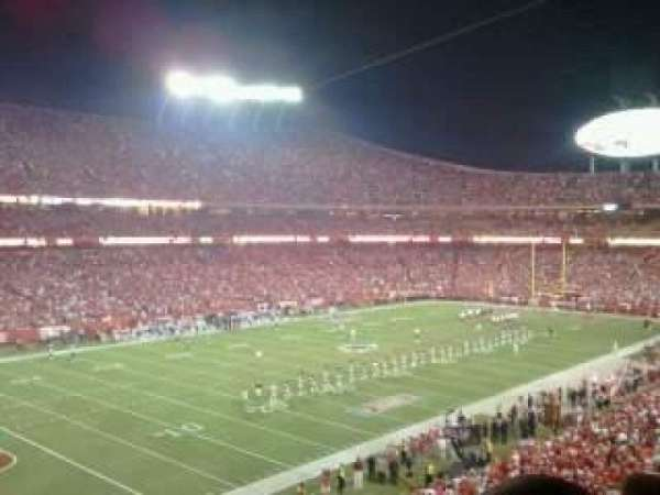 Arrowhead Stadium, section: 230, rangée: 12, siège: 5