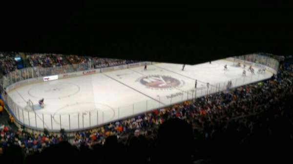 Old Nassau Veterans Memorial Coliseum, section: 307, rangée: S, siège: 11