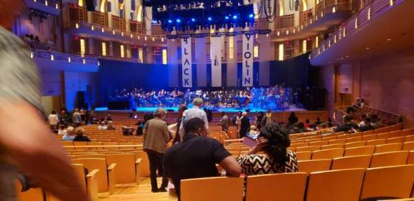 The Music Center at Strathmore, section: Orchestra Tier, rangée: KK, siège: 2