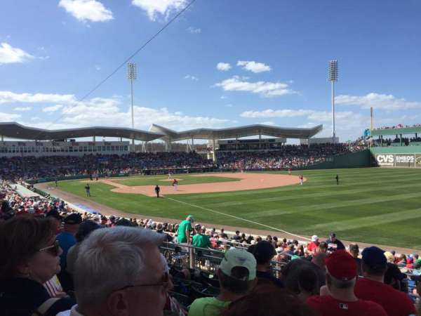 JetBlue Park, section: 219, rangée: 6, siège: 4