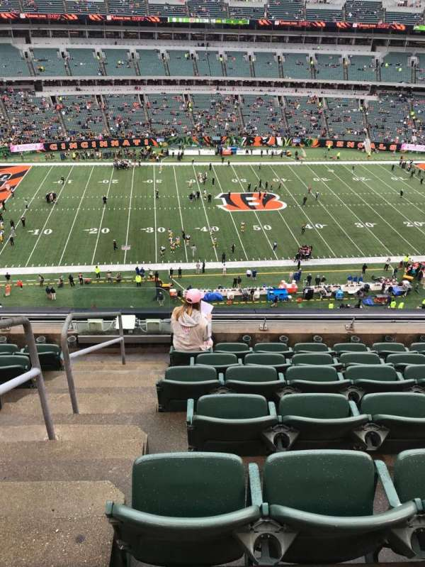 Paul Brown Stadium , section: 311, rangée: 7, siège: 22
