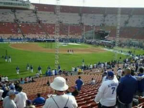 Los Angeles Memorial Coliseum, section: 226, rangée: 25