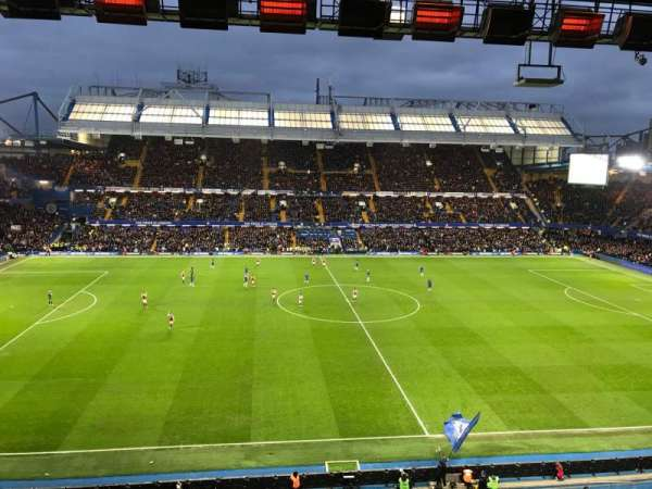 Stamford Bridge, section: West Stand Upper 5, rangée: 2, siège: 134