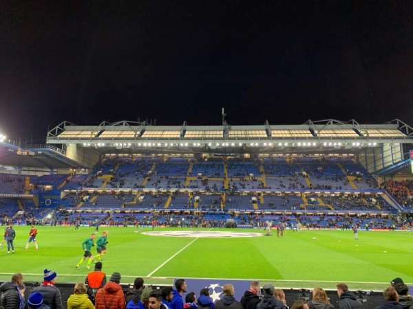 Stamford Bridge, section: West Stand Lower 4, rangée: 7, siège: 101