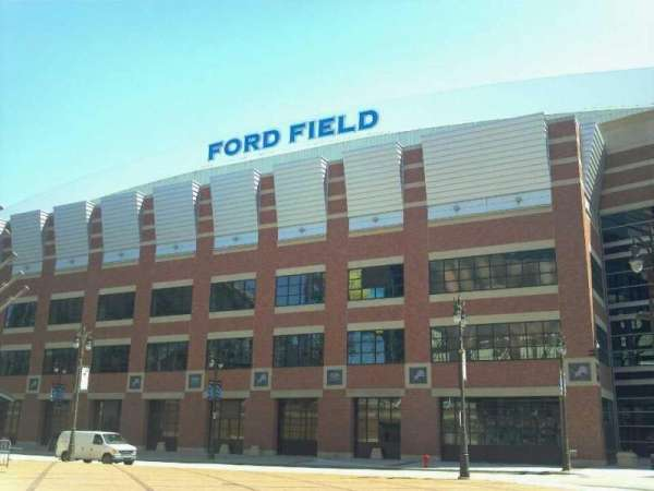 Ford Field, section: Gate A