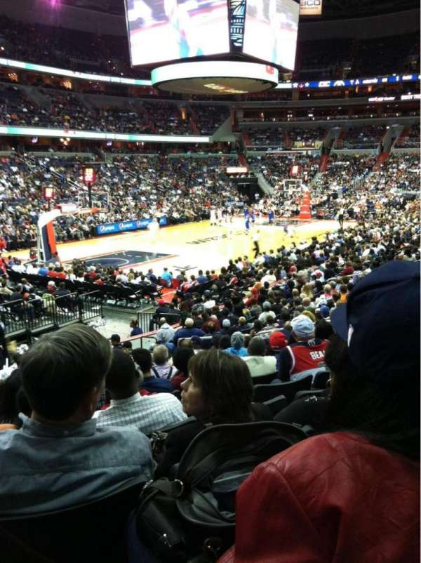 Capital One Arena, section: 108
