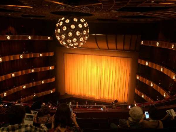 David H. Koch Theater, section: 4th Ring, rangée: H, siège: 10