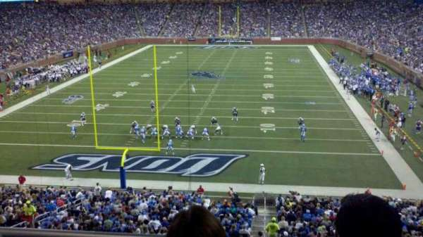 Ford Field, section: 244