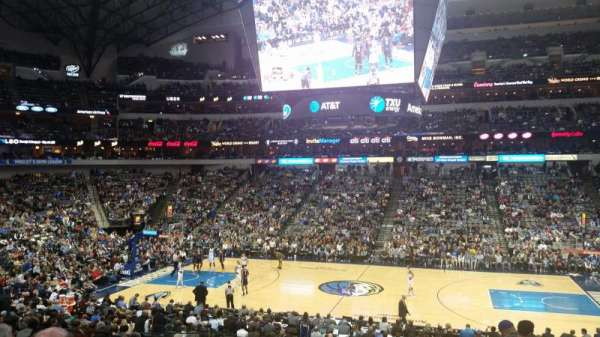 American Airlines Center, section: 118, rangée: Y, siège: 6