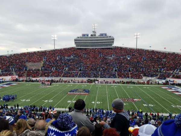 Liberty Bowl Memorial Stadium, section: 119, rangée: 50, siège: 27