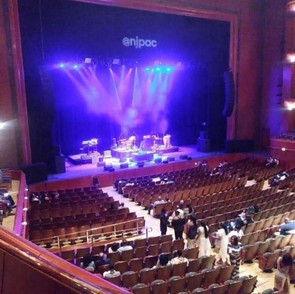 Prudential Hall at the New Jersey Performing Arts Center, section: Tier 1 Box A, rangée: A, siège: 4