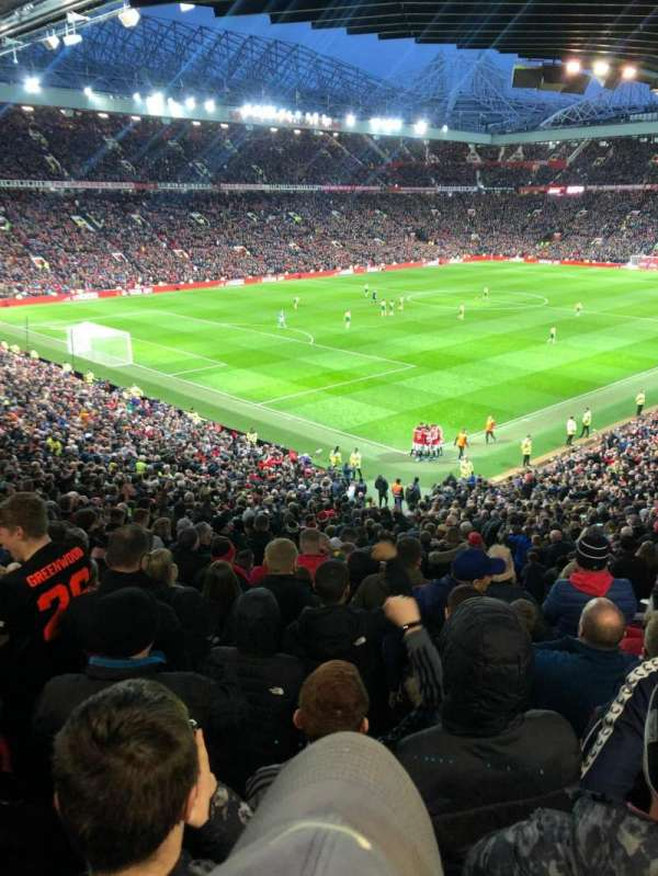 Old Trafford, section: W210