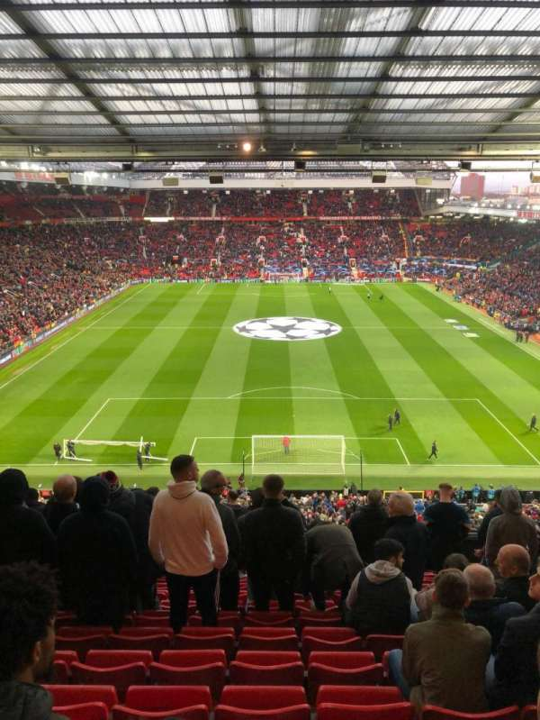 Old Trafford, section: W3104, rangée: 13