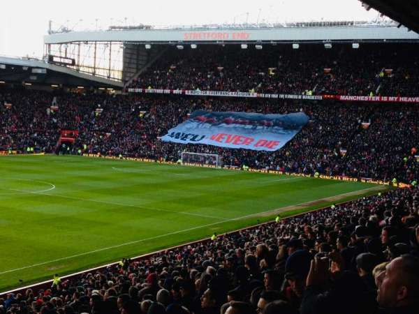 Old Trafford , section: N2402