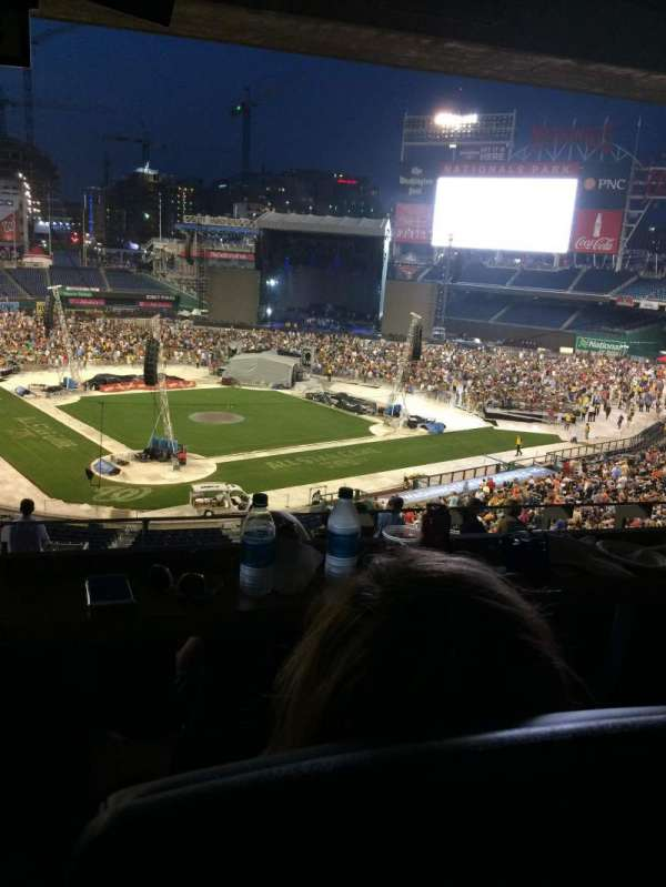 Nationals Park, section: Lincoln Suite 22