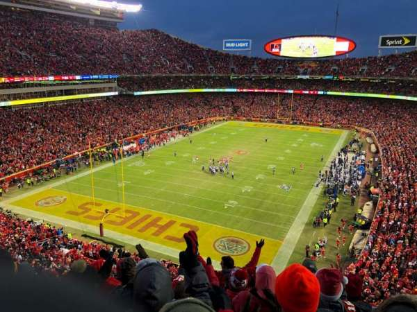 Arrowhead Stadium, section: 310, rangée: 7, siège: 9