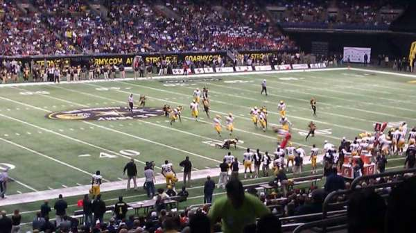 Alamodome, section: 137, rangée: 34, siège: 13 and 14
