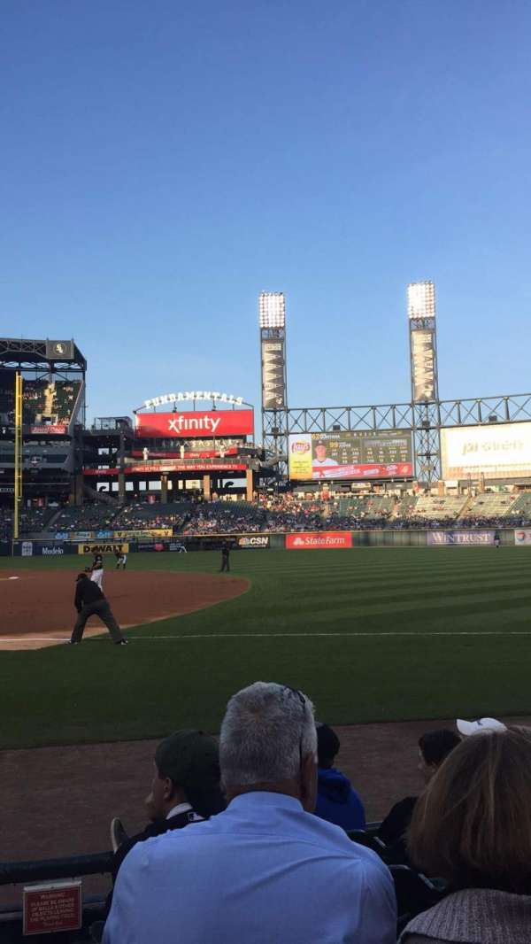 Guaranteed Rate Field, section: 120, rangée: 6, siège: 8