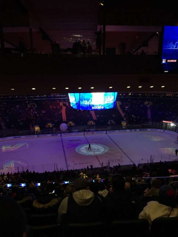 Madison Square Garden, section: 210, rangée: 18, siège: 13