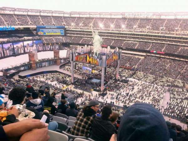 MetLife Stadium, section: 335, rangée: 20, siège: 12