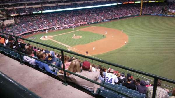 Angel Stadium, section: V532