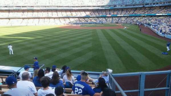 Dodger Stadium, section: 301PL, rangée: F/G