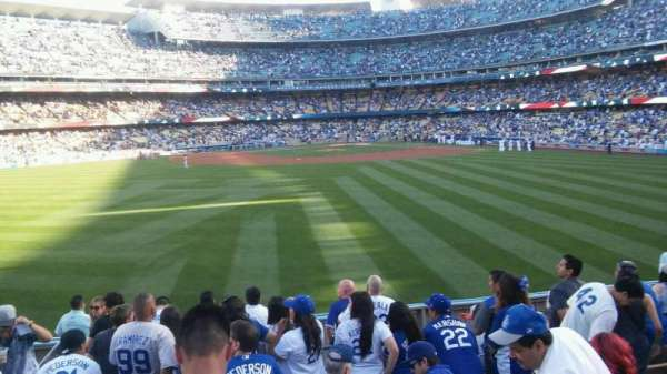 Dodger Stadium, section: 311/313