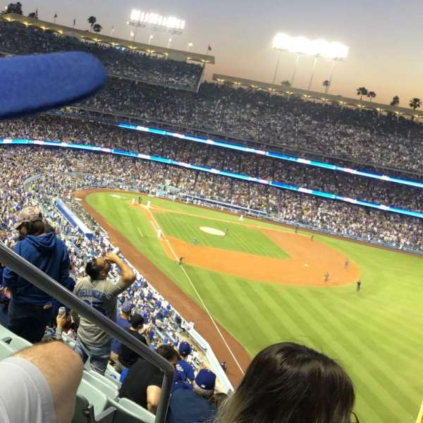 Dodger Stadium, section: 56RS, rangée: T, siège: 2
