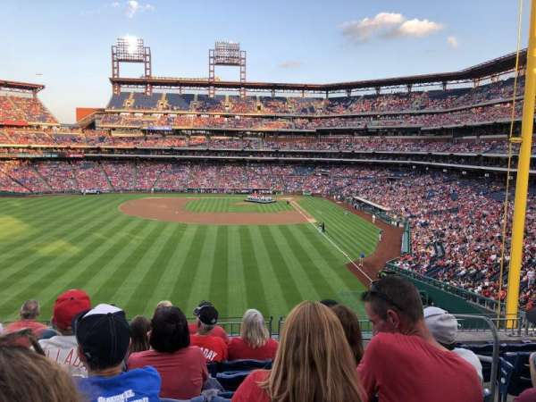 Citizens Bank Park, section: 242, rangée: 7, siège: 3