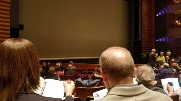 Ordway Center for the Performing Arts - Music Theater, section: Orchestra, rangée: Q, siège: 110