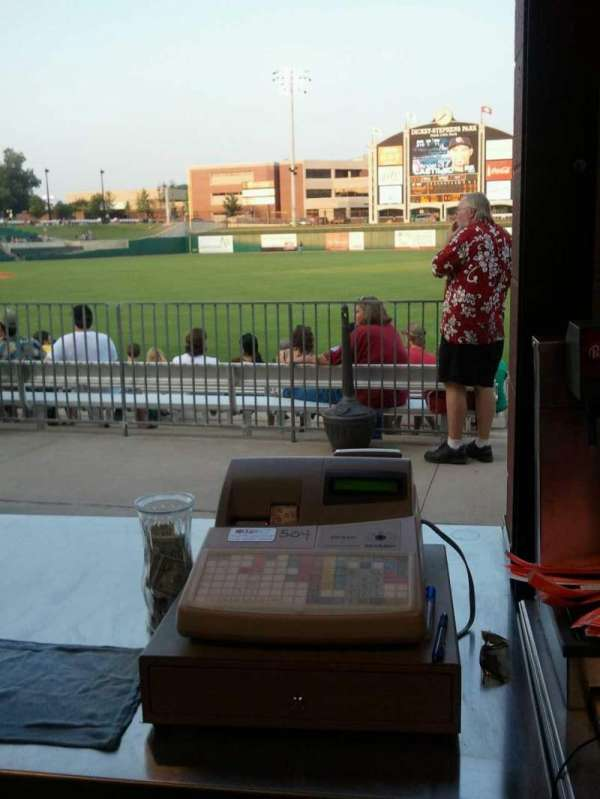 Dickey-Stephens Park, section: Beer Garden
