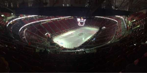 PNC Arena, section: 310, rangée: N