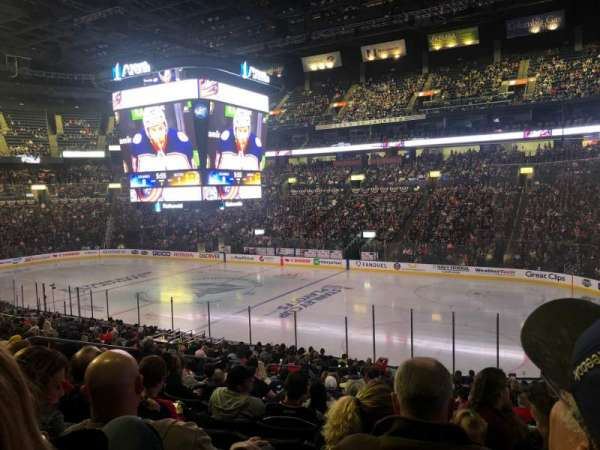Nationwide Arena, section: 112, rangée: Y, siège: 17