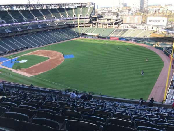 Guaranteed Rate Field, section: 512, rangée: 20