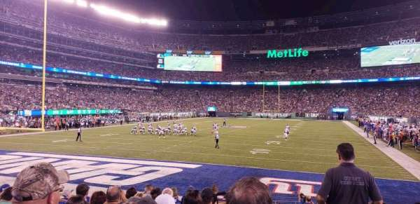 MetLife Stadium, section: 149, rangée: 10, siège: 1