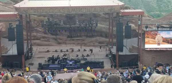 Red Rocks Amphitheatre, section: Center, rangée: 48, siège: 93 and 94