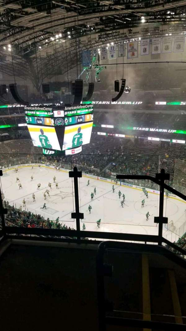 American Airlines Center, section: 305, rangée: H, siège: 10