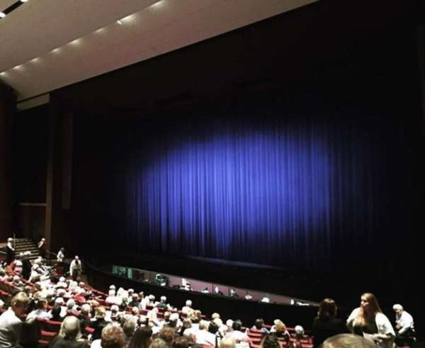 Carpenter Performing Arts Center, section: Orchestra Right, rangée: P
