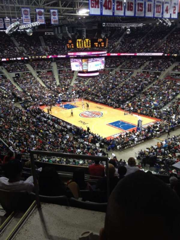 The Palace of Auburn Hills, section: 211