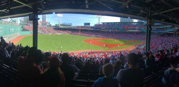 Fenway Park, section: Grandstand 31
