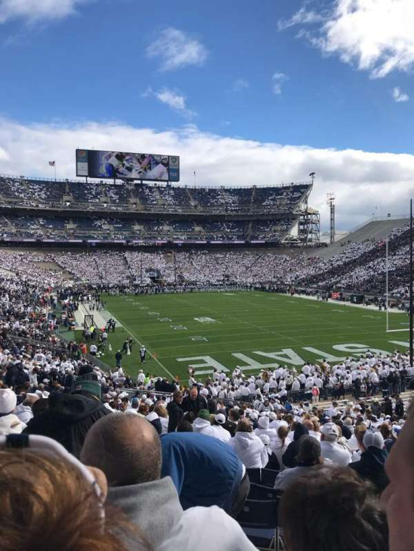 Beaver Stadium, section: NJ, rangée: 42, siège: 11