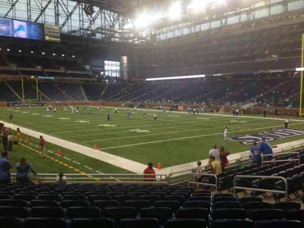 Ford Field, section: 134, rangée: 13, siège: 7