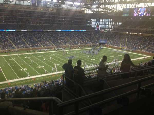 Ford Field, section: 327, rangée: 7, siège: 17