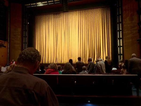 The Kennedy Center Eisenhower Theater, section: ORCH, rangée: Q, siège: 103