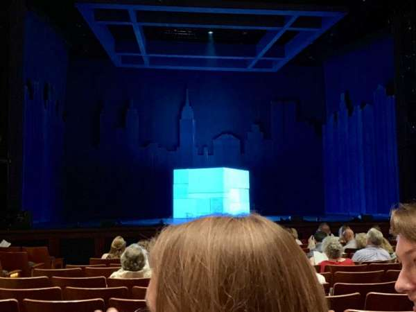 The Kennedy Center Eisenhower Theater, section: ORCH, rangée: N, siège: 115