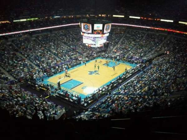 Smoothie King Center, section: 305, rangée: 17, siège: 3