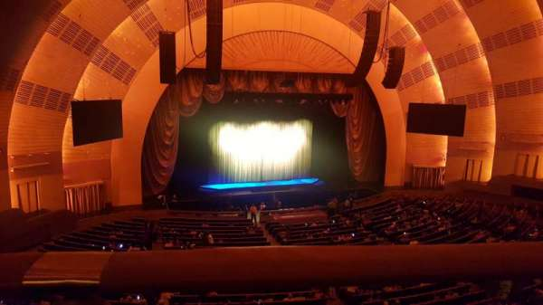 Radio City Music Hall, section: 2nd Mezzanine 6, rangée: A, siège: 604