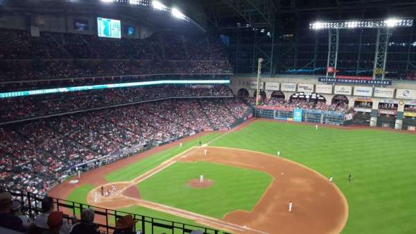 Minute Maid Park, section: 427, rangée: 1, siège: 13